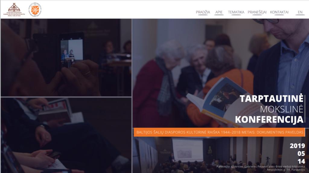 Panevėžio apskrities Gabrielės Petkevičaitės-Bitės viešosios bibliotekos konferencijos svetainės vaizdas